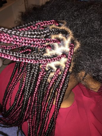 coiffure africaine de tout type