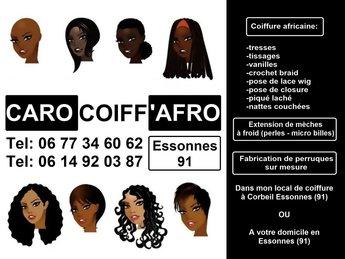 Coiffure Afro - Antillaise en Essonnes (91)