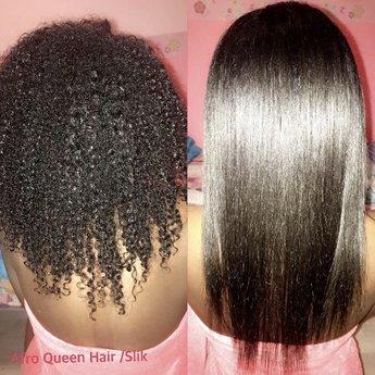 Afro Queen Hair/Slik
