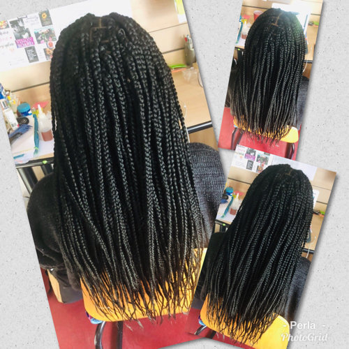 perla coiffeuse afro