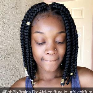 Bob box braids