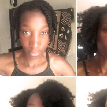 Braid out sur cheveux crépus