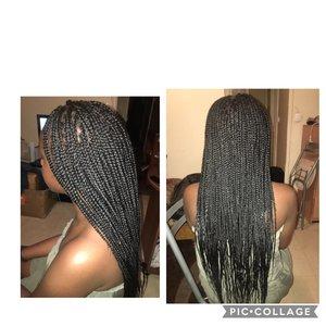 Braids fines et longues