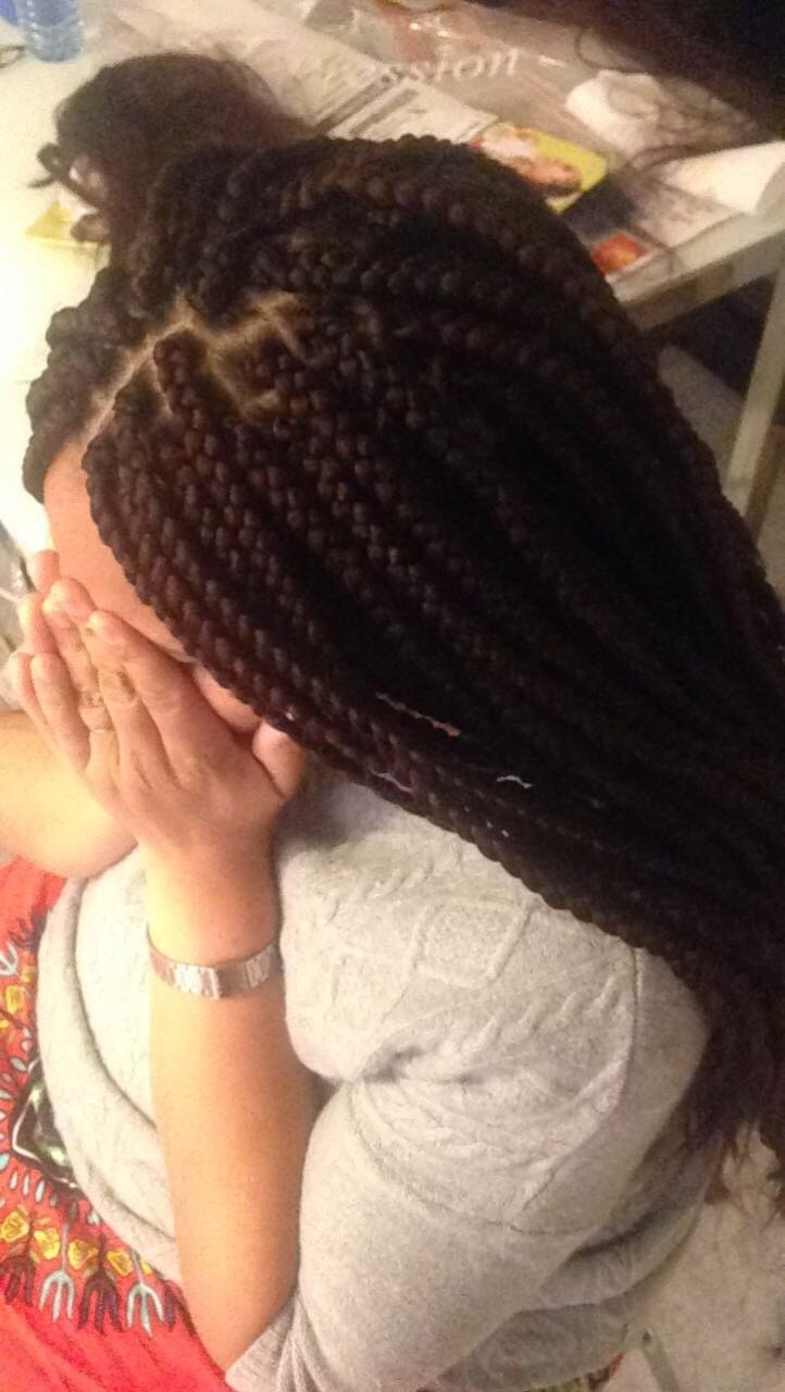 Braids / vanilles / crochet braid / tissage / perruque  ouvert