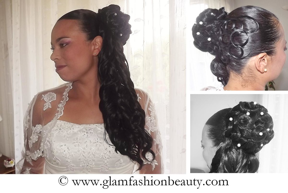 Fabuleux Coiffure Mariage Afro MH04