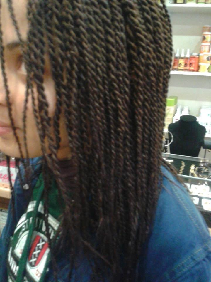 Coiffure tresses vanilles id es coiffure afro tresses - Salon de coiffure afro noisy le grand ...