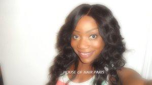 Confection U part wig/ Perruque U part (3/4)