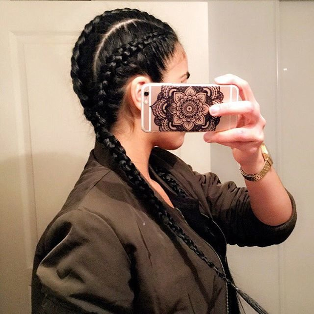 cornrows braids