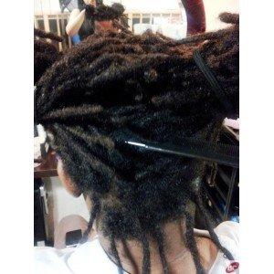 dreadlocks, locks sur cheveux naturels