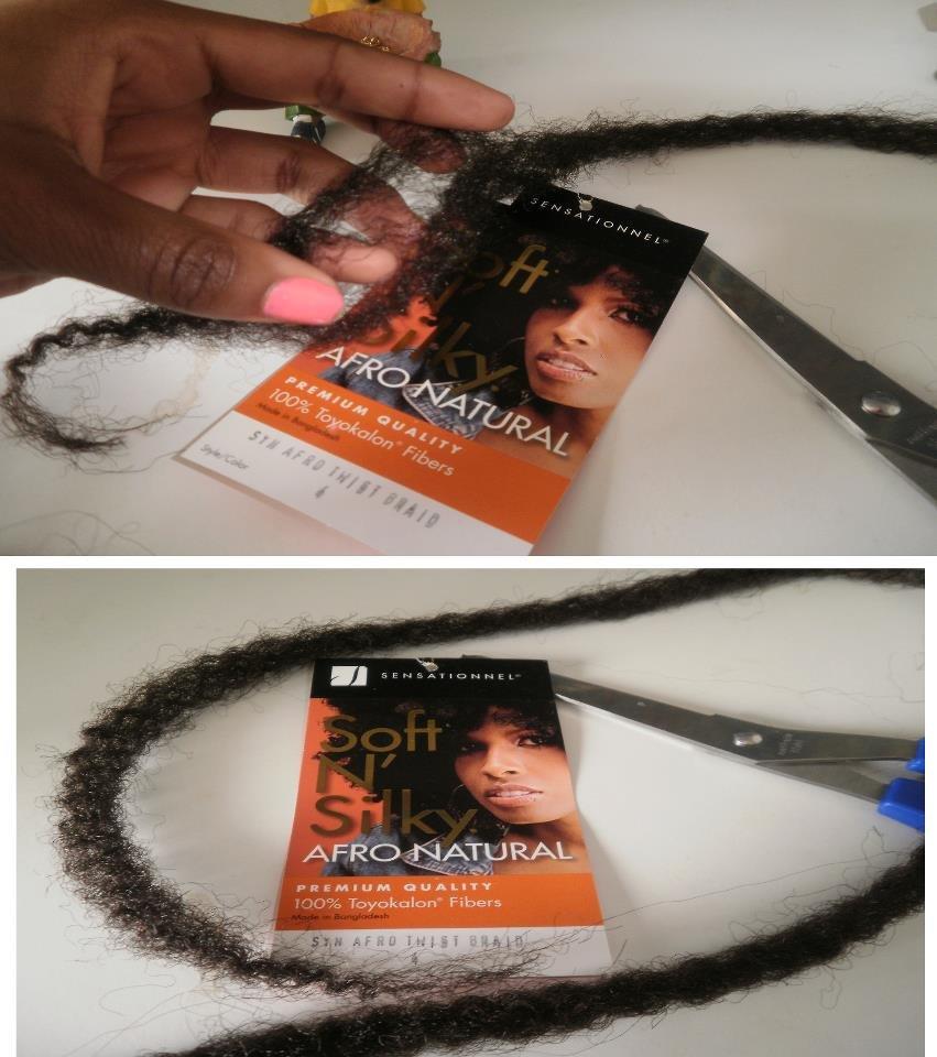 Fausses dreadlocks création SCARLETT HAIR