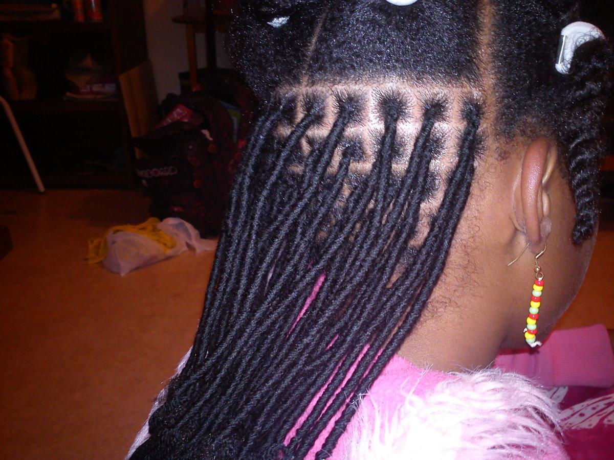 Bien-aimé Laine ! - Idées Coiffure Afro - tresses - vanille - tissage  WD15