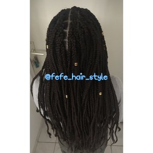 Longues braids