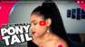 Ponytail à la Nicki Minaj (queue de cheval) sur cheveux courts et naturels