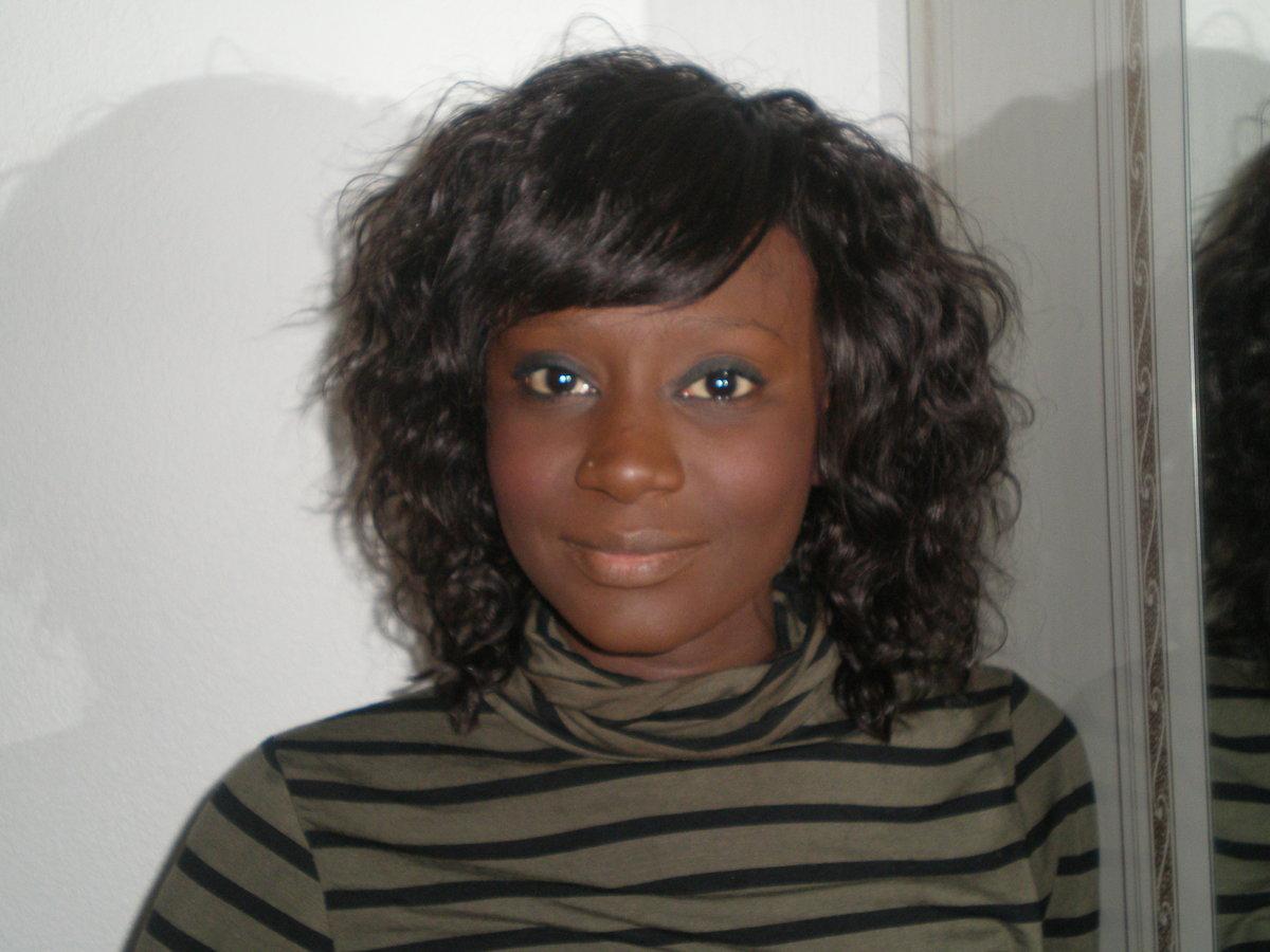 tissage friss avec une frange droite chinoise id es coiffure afro tresses vanille. Black Bedroom Furniture Sets. Home Design Ideas