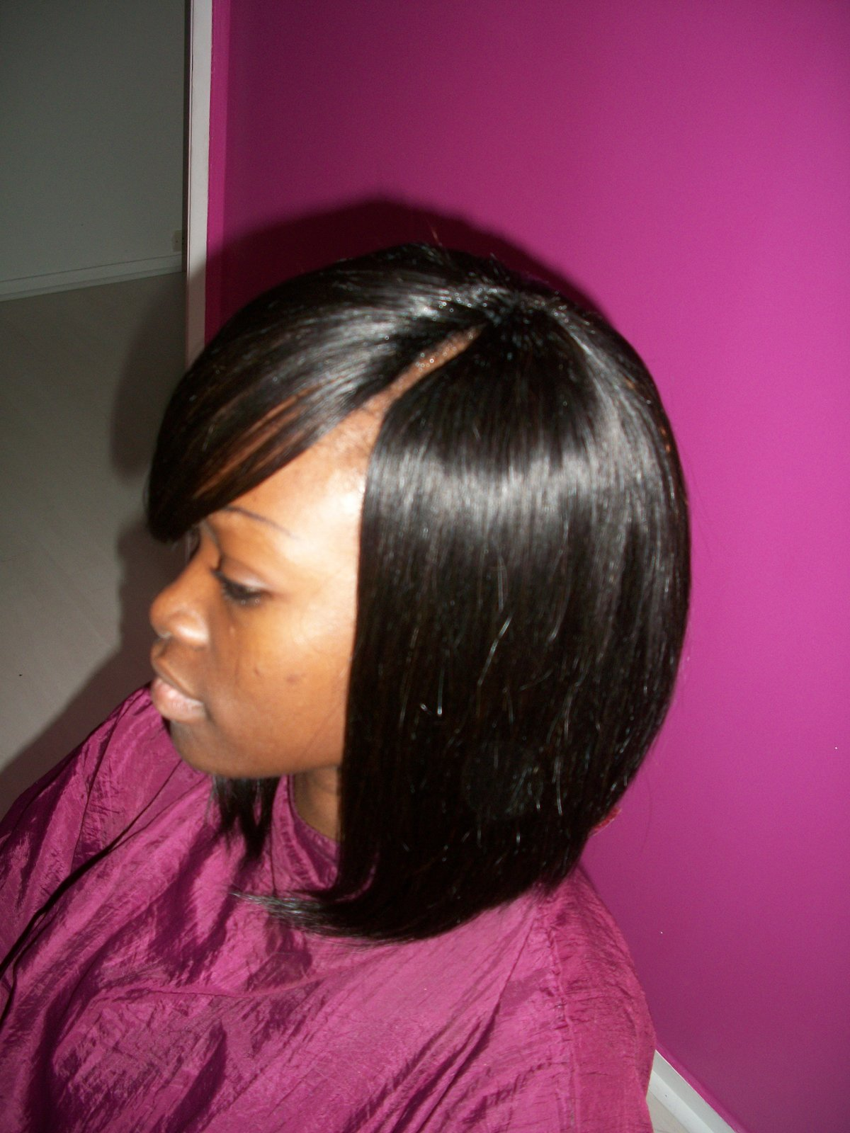 tissage raie invisible