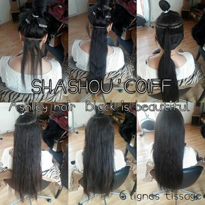 Tissage sur cheveux europeens