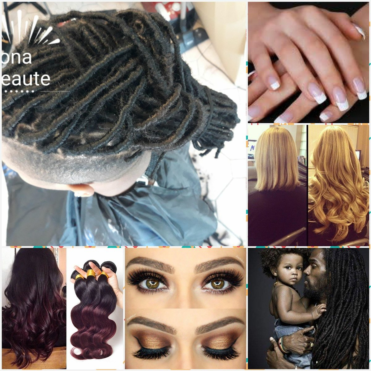 Tresses, Extensions, Tissages, dreadlocks