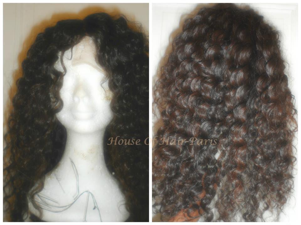 U-Part wig/ Perruque U-part