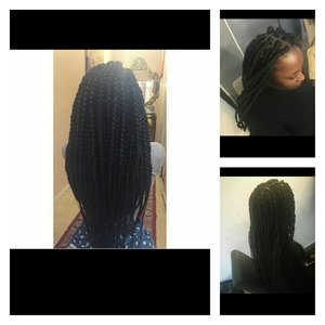 Vraies , fausses locks , vanille by me