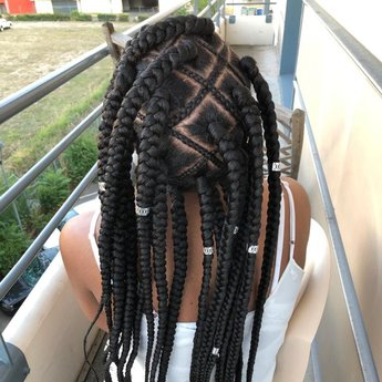 Web box braids