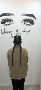 Jane coiffure afro