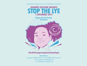 Journée Coiffure Enfant // Stop the lye !