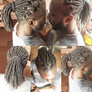 faux locks homme