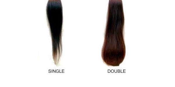 single et double