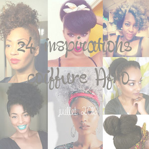 24 inspirations coiffure afro juillet 2016