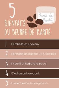 5 BIENFAITS DU BEURRE DE KARITÉ