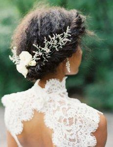 10 id es coiffures pour les f tes magazine coiffure afro webzine tutos afro articles - Coiffure pour aller a un mariage ...