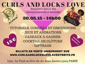 Curls and Locks love - International Natural Hair Meetup Day
