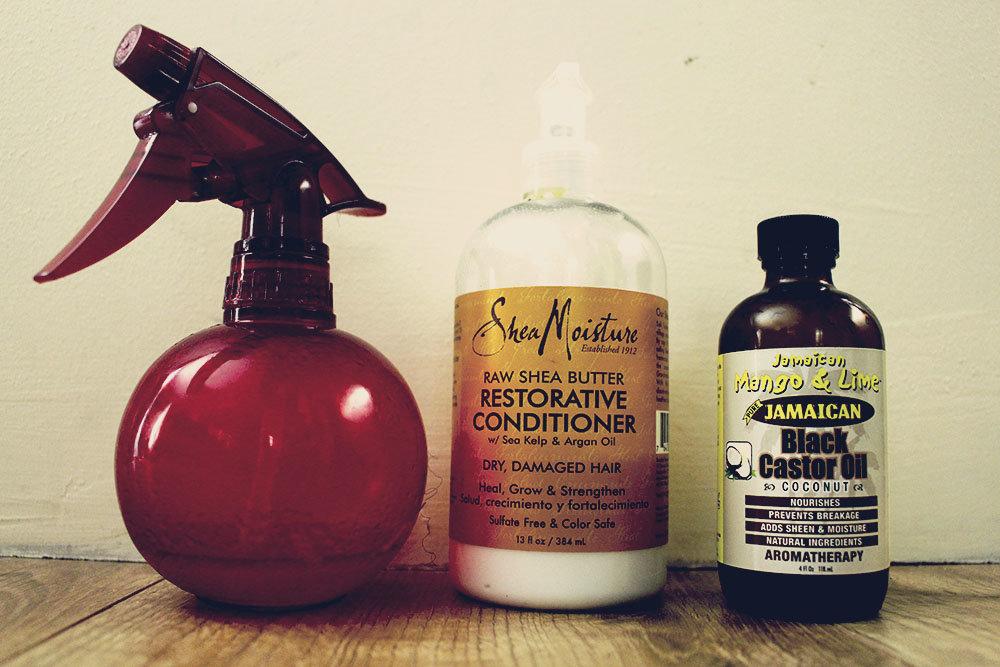 hydrater les cheveux crépus