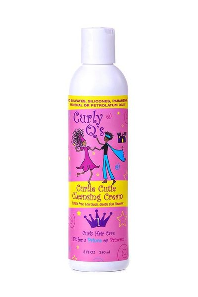Curly Q's for kids Curlie Cutie Cleansing Cream