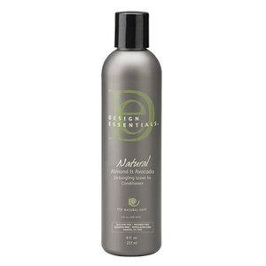Design Essentials Natural Après-Shampoing démêlant sans rinçage Amande et Avocat