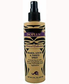 Isoplus Braids Locks and Twist  Spray