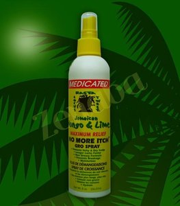 Jamaican Mango and Lime Maximum Relief No more Itch Gro spray