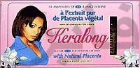 Keralong Ampoules au placenta vegetal
