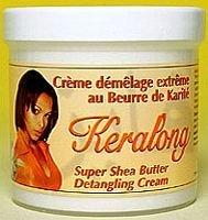 Keralong Crème démêlage au beurre de Karité