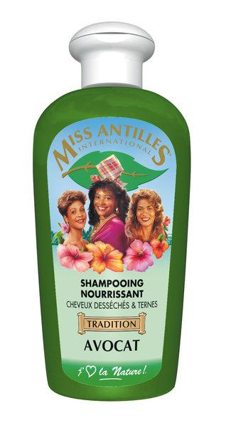 Miss antilles Shampoing Nourissant à l'Huile d'Avocat