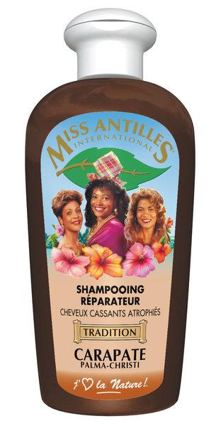 Miss antilles Shampoing Réparateur à l'huile de Carapate/Palma-Christi