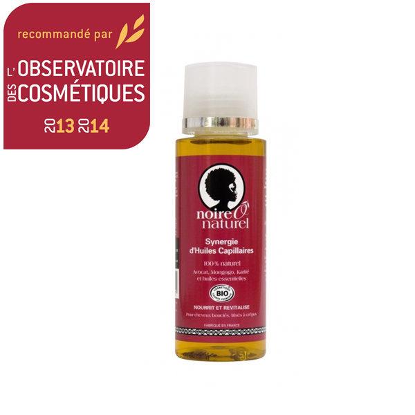 NoireôNaturel Synergie d'huiles capillaires