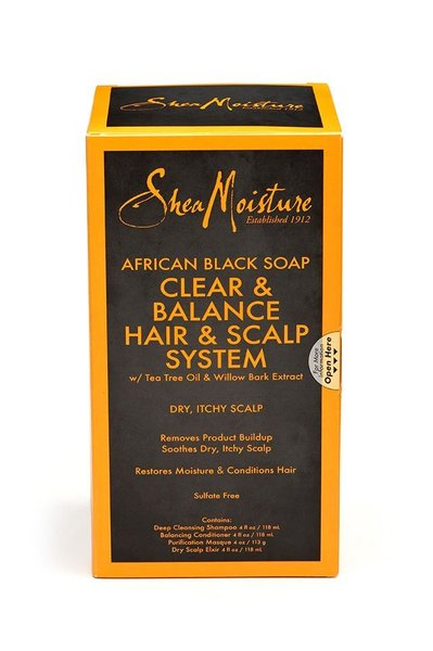 Shea Moisture African Black Soap Organic Balancing conditioner