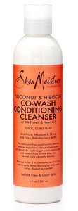 Shea Moisture Coconut & Hibiscus Co-wash conditionning cleanser