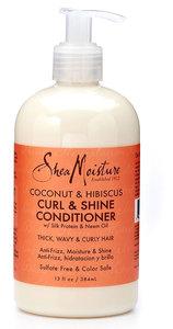 Shea Moisture Coconut & Hibiscus Curls and shine conditioner
