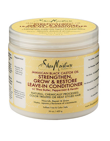 Shea Moisture jamaican black castor oil strengthen, grow & restore leave-in