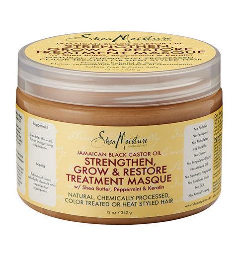 Shea Moisture jamaican black castor oil strengthen, grow & restore treatment masque