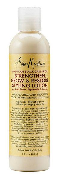 Shea Moisture jamaican black castor oil strengthen, grow & restorestyling lotion