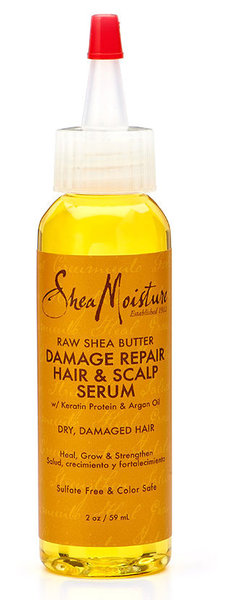 Shea Moisture Raw Shea butter damage repair hair & scalp serum
