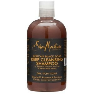Shea Moisture Shampoing African Black Soap Organic